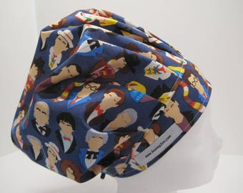 Dr. Who Surgical Scrub Hat, OR Nurse, surgical tech