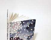 Japanese petals coptic bound writing journal - Japanese notebook - cute drawing sketchbook - hand bound journal - Japanese bullet journal