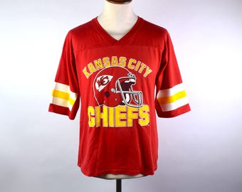 1980's Kansas City Chiefs T-Shirt, Size Medium, EXCELLENT Condition