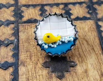 Bath Time Ducky Magnet
