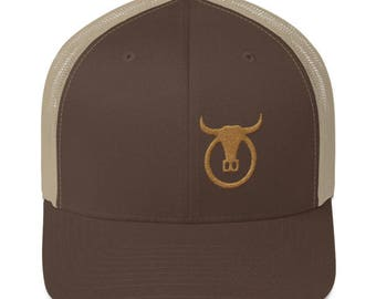 "Old Gold"" Trail Boss Originals Trucker Cap"