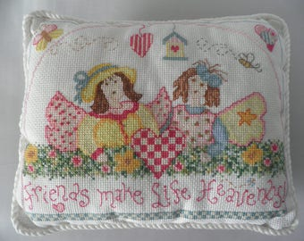 Friendship Cushion, Friendship Pillow, Pillow