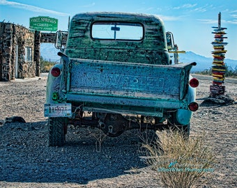 Blue, tailgate, Chevy truck tailgate, Rustic home decor, photo, green, husband gift, photo, man gift, mens gift, pickup, truck, Chevy