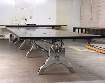 Chrome Conference Table
