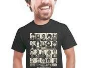 rock and roll t-shirt, rock star mugshot, rock music, band t-shirt, rock tshirt, music tee, elvis, kurt cobain, johny cash, music fan, s-4xl