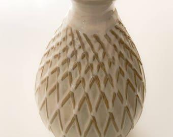 vintage glazed vase