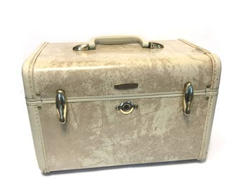 Vintage Train Case Etsy