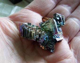 Rainbow Bismuth Iridescent Crystal
