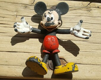 OH BOY! - Sea Worn Mickey Mouse - Lost Toy - Scottish Beach Finds (6910)