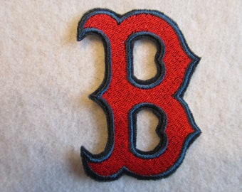 Boston Red Sox Iron On Patch, Iron On Patch, Boston Red sox, Boston, Baseball Patch, Red Sox