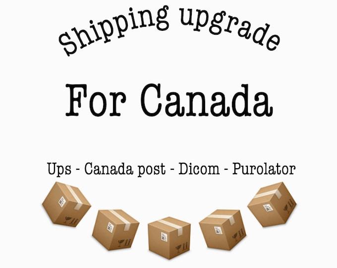 Canada Shipping upgrade