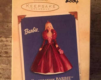 2002 Hallmark Keepsake Celebration Barbie Ornament