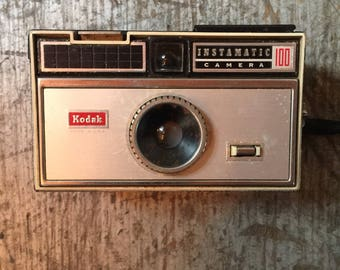 Vintage Kodak Instamatic 100 Camera