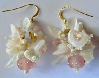 WEDDING Garden Style Earring  by Sarah Klopping