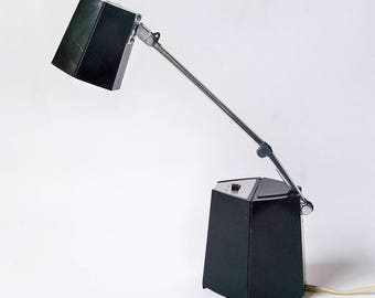 Mod, Cube Style 1960s-70s Desk Light, Task Light - Made in USA by Hamilton Industries
