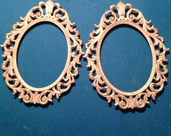 Pair of Vintage gold metal frames