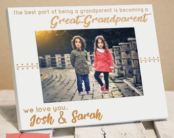 Gifts for Great Grandparents - Great Grandparents Gift - Gift from Grandkids - Christmas Gift for Great Grandparents