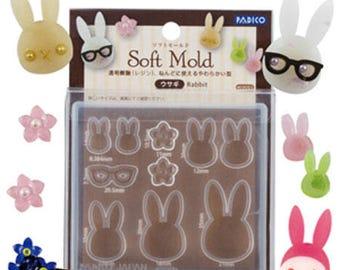 Padico bunny mold/Bunny flexible mold/Bunny mold for resin/Bunny mold for DIY jewelry/Padico resin mold/Padico jewelry mold