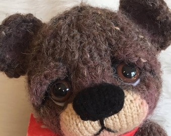 Summer Sale New Sweet Knit Bear Knitting Pattern by Teri Crews