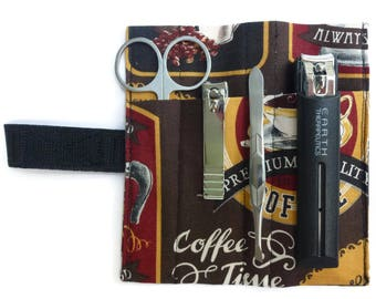 Coffee Grooming Kit