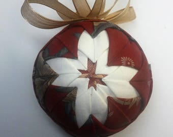Quilted Star Ornament