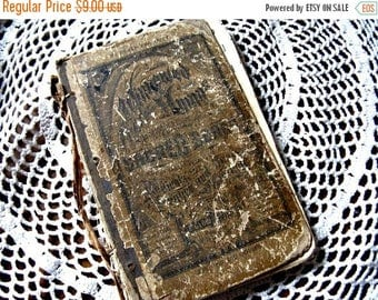 Awesome Antique Hymnal - Religious Hymns Winnowed Song Book