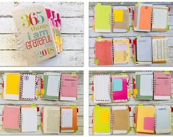 Gratitude Journal, 365 Things I Am Grateful For, Gratitude Notebook Journal, Gratitude Diary, Mindfulness Journal, Grateful For Journal Book