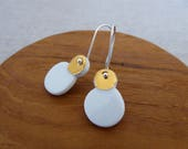 Snowman Hook Earrings SAL...