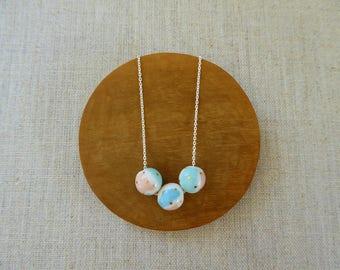 Colour Wheel Ball Necklace 45cm