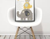 Nursery art, Elephant Nur...
