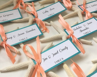 Beach place cards | Etsy