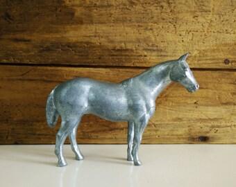 Vintage cast horse figurine