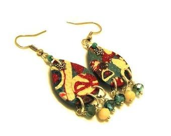 ON SALE Dangle Earrings / Summer Earrings / Polymer Jewelry