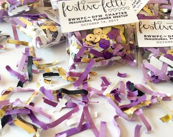 Confetti Swag Bags, Gift Bag, Meetup Gifts, Convention Gifts, Business Promo, Custom Confetti, Branded Gift Bags, Event Promotion, Favors
