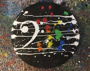 Rainbow Rhythm - Bass Clef - Rhythm On Vinyl