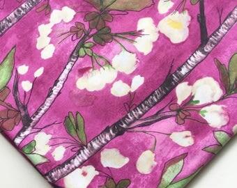 Michael Miller Fabrics Vignette by Laura Gunn Berry Cherry Bloom Fabric, OOP