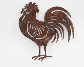 Charmant Rooster Wall Art,Rustic Kitchen Sign,Farmhouse Rooster Decor,Rustic Kitchen  Decor,