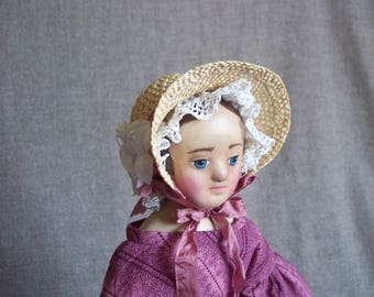 """15/16"""" Izannah Walker style doll by Jan Conwell"""