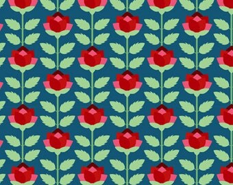 Deco State Flower NEW YORK - In the Beginning Fabrics - By the Yard
