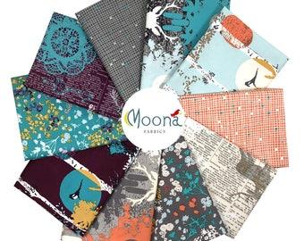 Fat Quarter Fabric Bundle Modern Farmhouse, Deer Woodland Decor, Rustic Deer Nursery, INDELIBLE, Katarina Roccella, Cotton Quilt Fabric