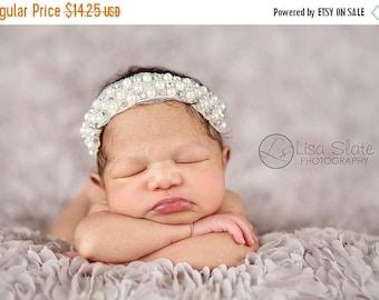 12% off Baby headband, newborn headband, adult headband, child headband and photography prop The single sprinkled- QUEENIE  headband