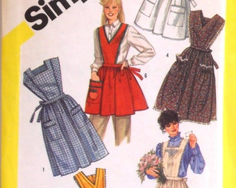 Vintage Apron Pattern by Simplicity - #6173 - Large (18-20)