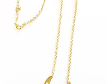 AMY* Thick Brass Chain