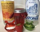 Strawberry Margarita Jam - Strawberry Margarita Preserves - OilPatchFarm - Breakfast Jams