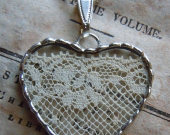 Fiona & The Fig - Antique French Charm -  Necklace - Pendant - Jewelry