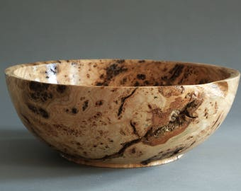 Black Ash Burl Bowl