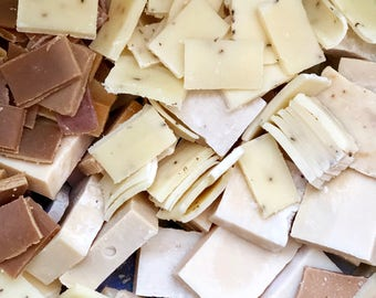 Soap Clearance; Soap Scraps; Soap Ends; Natural Soap Bulk; Soap Pieces; Soap Odds and Ends; Soap Grab Bag; Handmade Soap Bag; Natural Soaps