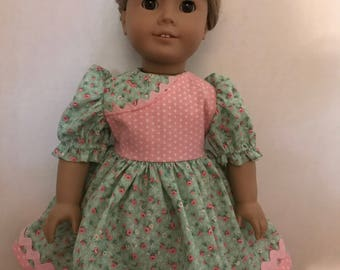 Dress for American Girl Doll or 18 Inch Doll
