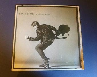 Bryan Adams Cuts Like A Knife Vinyl Record LP SP-6-4919 A&M Records 1983