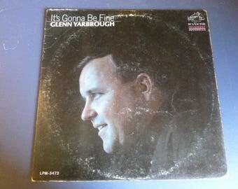 Glen Yarbrough It's Gonna Be Fine Vinyl Record LP LPM-3472 RCA Victor Mono Dynagroove Recording 1965